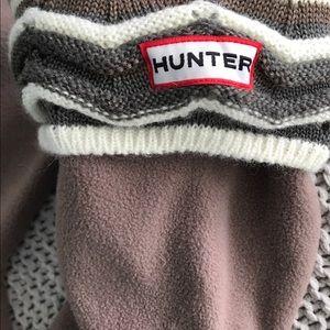 Hunter boot socks- never been worn